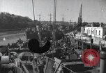Image of US Large Landing Craft Infantry docked in Weymouth, England  Weymouth England, 1944, second 1 stock footage video 65675046305