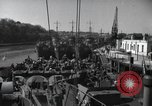 Image of US Large Landing Craft Infantry docked in Weymouth, England  Weymouth England, 1944, second 2 stock footage video 65675046305
