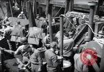 Image of US 1st Infantry troops aboard ships docked in England before D-Day Weymouth England, 1944, second 7 stock footage video 65675046308
