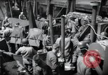 Image of US 1st Infantry troops aboard ships docked in England before D-Day Weymouth England, 1944, second 8 stock footage video 65675046308