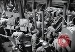 Image of US 1st Infantry troops aboard ships docked in England before D-Day Weymouth England, 1944, second 10 stock footage video 65675046308