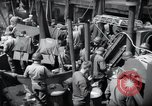 Image of US 1st Infantry troops aboard ships docked in England before D-Day Weymouth England, 1944, second 12 stock footage video 65675046308