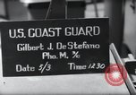 Image of U.S. Coast Guardsmen display fancy haircuts prior to D-Day Weymouth England, 1944, second 5 stock footage video 65675046309