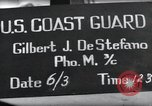 Image of U.S. Coast Guardsmen display fancy haircuts prior to D-Day Weymouth England, 1944, second 6 stock footage video 65675046309