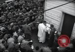 Image of Military Chaplain (Catholic) conducts mass during World War 2 Weymouth England, 1944, second 10 stock footage video 65675046311