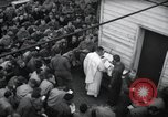 Image of Military Chaplain (Catholic) conducts mass during World War 2 Weymouth England, 1944, second 11 stock footage video 65675046311
