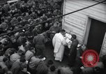 Image of Military Chaplain (Catholic) conducts mass during World War 2 Weymouth England, 1944, second 12 stock footage video 65675046311