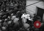 Image of Military Chaplain (Catholic) conducts mass during World War 2 Weymouth England, 1944, second 16 stock footage video 65675046311