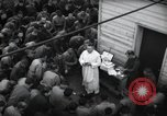 Image of Military Chaplain (Catholic) conducts mass during World War 2 Weymouth England, 1944, second 17 stock footage video 65675046311