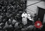 Image of Military Chaplain (Catholic) conducts mass during World War 2 Weymouth England, 1944, second 18 stock footage video 65675046311