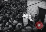 Image of Military Chaplain (Catholic) conducts mass during World War 2 Weymouth England, 1944, second 19 stock footage video 65675046311