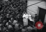 Image of Military Chaplain (Catholic) conducts mass during World War 2 Weymouth England, 1944, second 20 stock footage video 65675046311