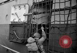 Image of USS Samuel Chase and Normandy invasion on D-Day France, 1944, second 9 stock footage video 65675046331