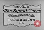 Image of K-12 camera United States USA, 1940, second 9 stock footage video 65675046338