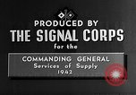 Image of chemical warfare United States USA, 1942, second 8 stock footage video 65675046340