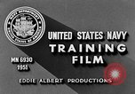 Image of Navy Port Terminal United States USA, 1951, second 9 stock footage video 65675046354