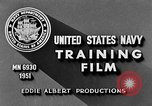 Image of Navy Port Terminal United States USA, 1951, second 10 stock footage video 65675046354