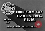 Image of Navy Port Terminal United States USA, 1951, second 12 stock footage video 65675046354