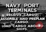 Image of Navy Port Terminal United States USA, 1951, second 3 stock footage video 65675046355