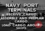 Image of Navy Port Terminal United States USA, 1951, second 5 stock footage video 65675046355