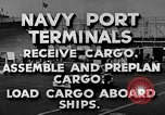 Image of Navy Port Terminal United States USA, 1951, second 6 stock footage video 65675046355
