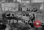 Image of Navy Port Terminal California United States USA, 1951, second 1 stock footage video 65675046356