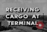 Image of Navy Port Terminal California United States USA, 1951, second 2 stock footage video 65675046356