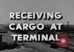Image of Navy Port Terminal California United States USA, 1951, second 3 stock footage video 65675046356