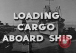 Image of navy port terminal California United States USA, 1951, second 2 stock footage video 65675046358
