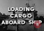 Image of navy port terminal California United States USA, 1951, second 3 stock footage video 65675046358