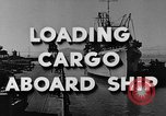 Image of navy port terminal California United States USA, 1951, second 5 stock footage video 65675046358