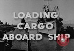 Image of navy port terminal California United States USA, 1951, second 6 stock footage video 65675046358