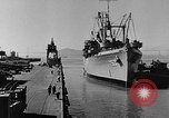 Image of navy port terminal California United States USA, 1951, second 8 stock footage video 65675046358