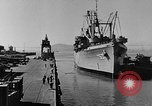 Image of navy port terminal California United States USA, 1951, second 10 stock footage video 65675046358