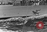 Image of replenishing at sea United States USA, 1948, second 5 stock footage video 65675046361