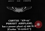 Image of Pursuit Airplanes United States USA, 1933, second 3 stock footage video 65675046364