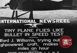 Image of Pursuit Airplanes Port Washington Long Island New York USA, 1933, second 3 stock footage video 65675046370