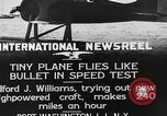 Image of Pursuit Airplanes Port Washington Long Island New York USA, 1933, second 4 stock footage video 65675046370