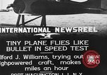 Image of Pursuit Airplanes Port Washington Long Island New York USA, 1933, second 7 stock footage video 65675046370
