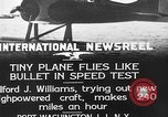 Image of Pursuit Airplanes Port Washington Long Island New York USA, 1933, second 8 stock footage video 65675046370
