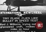 Image of Pursuit Airplanes Port Washington Long Island New York USA, 1933, second 9 stock footage video 65675046370