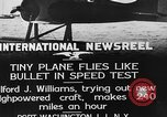 Image of Pursuit Airplanes Port Washington Long Island New York USA, 1933, second 12 stock footage video 65675046370
