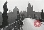 Image of Karlsbrucke or Charles Bridge Prague Czechoslovakia, 1945, second 5 stock footage video 65675046376