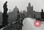 Image of Karlsbrucke or Charles Bridge Prague Czechoslovakia, 1945, second 8 stock footage video 65675046376