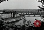 Image of Prague and the Vltava River Prague Czechoslovakia, 1945, second 2 stock footage video 65675046377