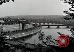Image of Prague and the Vltava River Prague Czechoslovakia, 1945, second 3 stock footage video 65675046377