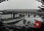 Image of Prague and the Vltava River Prague Czechoslovakia, 1945, second 4 stock footage video 65675046377