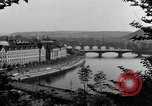 Image of Prague and the Vltava River Prague Czechoslovakia, 1945, second 5 stock footage video 65675046377