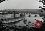 Image of Prague and the Vltava River Prague Czechoslovakia, 1945, second 6 stock footage video 65675046377