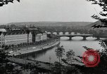 Image of Prague and the Vltava River Prague Czechoslovakia, 1945, second 7 stock footage video 65675046377